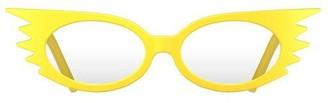 Newgate Speedy Blue Blockers Matte Yellow
