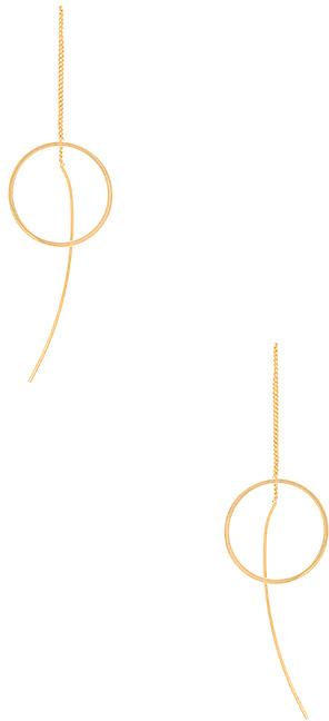 joolz by Martha Calvo Circle Ear Threader