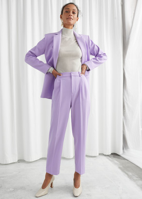 And other stories Duo Pleat Tailored Trousers