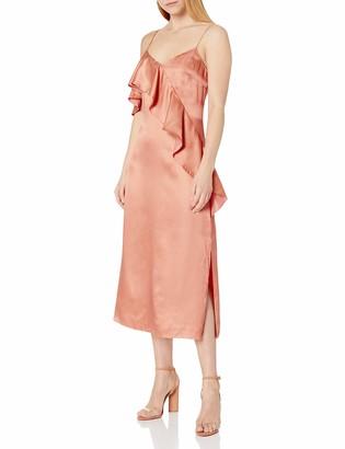 AMUR Women's Selena Silk Dress