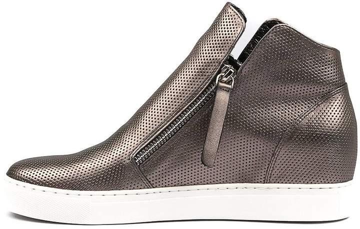 Django & Juliette Gisele Pewter Sneakers Womens Shoes Casual Casual Sneakers