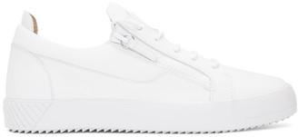 Giuseppe Zanotti White July Sneakers