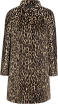 Giambattista Valli Leopard-print wool-blend coat