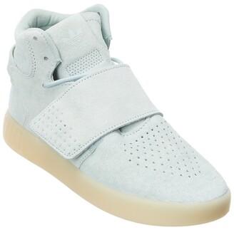 adidas Tubular Strap Vapor Green Suede Sneaker
