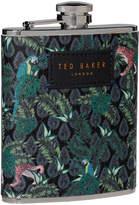 Ted Baker Jungle Print Hip Flask