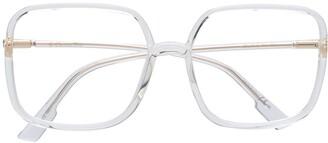 Christian Dior SoStellaireO1 square-frame glasses