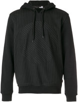 Love Moschino pin stripe hooded sweater