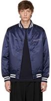 Yohji Yamamoto Navy New Era Edition Bomber Jacket
