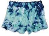 Splendid Girls' Tie Dye Voile Shorts - Big Kid