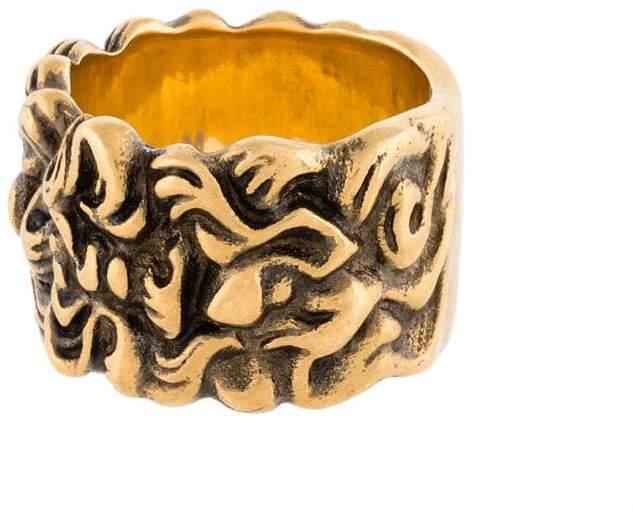 Gucci Lion mane ring