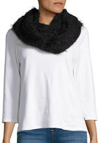 Calvin Klein Fringed Boucle Infinity Scarf