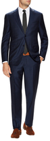 Ermenegildo Zegna Striped Notch Lapel Suit