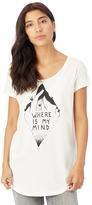 Alternative Origin Cotton Modal Graphic T-Shirt - Where Is My Mind