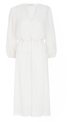 Zimmermann Plisse Midi Dress