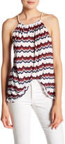 Kensie Striped Racerback Tank