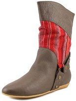F-Troupe Natalie Round Toe Synthetic Mid Calf Boot.