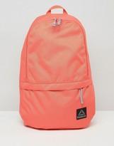 Reebok Logo Backpack In Coral
