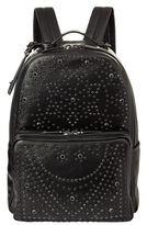 Valentino Crystal Embellished Studded Backpack
