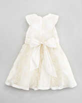 David Charles Antique Lace Dress, Ivory, Sizes 2Y-10Y