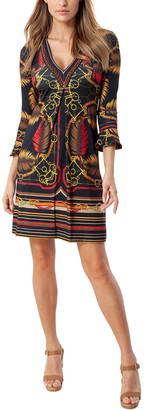 Hale Bob Flounce Mini Dress