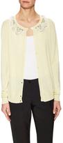 Valentino Embellished Front Collar Cardigan