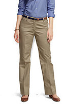 Classic Women's Plus Size Plain Straight Boot Pants-True Navy