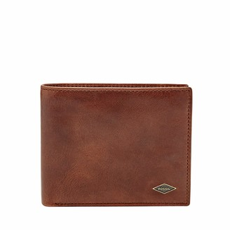 Fossil Men's RFID Blocking Ryan Large Coin Pocket Bifold Wallet
