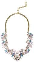 BaubleBar Women's Camellia Bib Necklace