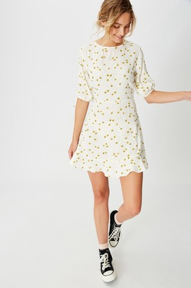 Cotton On Woven Lucie 3/4 Mini Dress