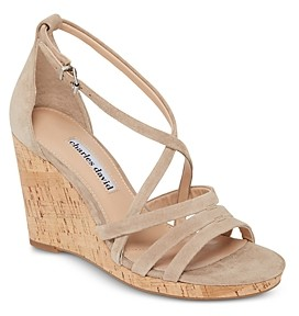 Charles David Women's Randee Wedge Heel Sandals