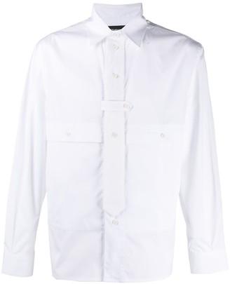 Gr Uniforma Tie Detail Shirt