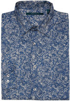 Perry Ellis Paisley Print Shirt