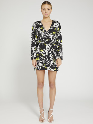 Alice + Olivia Ophelia Asymmetrical Mini Dress