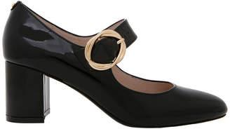 Basque Florence Black Patent Leather Heel