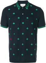Gucci bee pique polo shirt