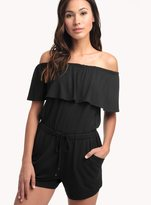Ella Moss Bella Off Shoulder Romper