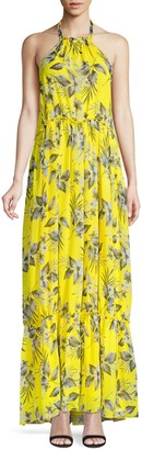 Eywasouls Malibu Ayla Tropical Maxi Dress