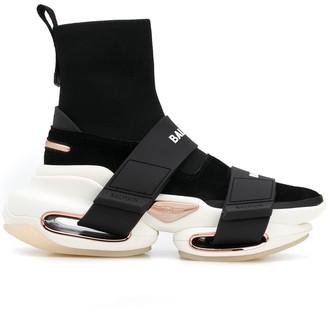Balmain high-top BBold sneakers
