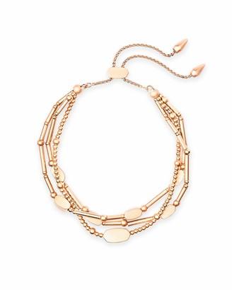 Kendra Scott Chantal Beaded Bracelet 14k Rose Gold-Plated