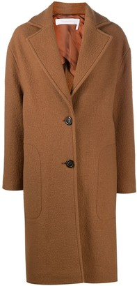 See by Chloe Single-Breasted Wool Coat