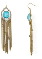 Alexis Bittar Stone Tassel Drop Earrings