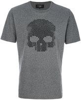 Hydrogen skull embellished T-shirt - men - Cotton/Polyester - S