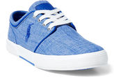 Polo Ralph Lauren Faxon Chambray Low-Top Sneaker