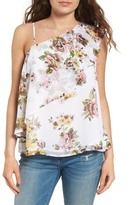 Leith One-Shoulder Ruffle Tank
