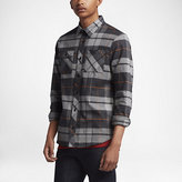 Nike SB Plaid Men's Woven Long-Sleeve Shirt