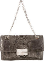 Michael Kors Metallic Python Shoulder Bag