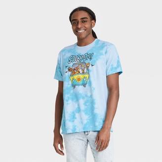 Scooby-Doo Men' cooby-Doo Tie-Dye hort leeve Graphic T-hirt -