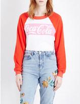 Wildfox Couture Coca-Cola jersey sweatshirt