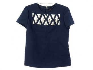 Louis Vuitton Navy Wool Tops