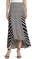 Chico's Mixed Stripe Maxi Skirt